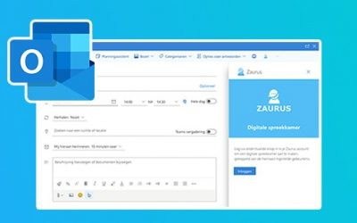 Create Digital Consulting Rooms with the Zaurus Add-in for Outlook