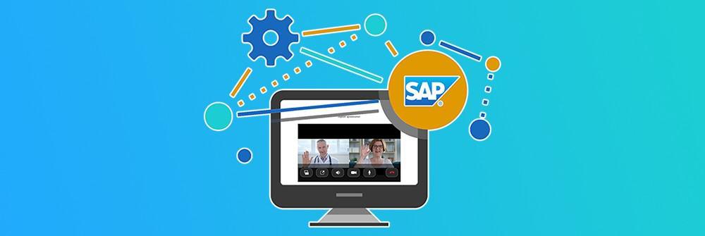 SAP integration video calling hospital