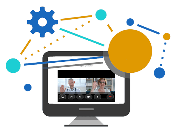 software integrations telehealth video conferencing